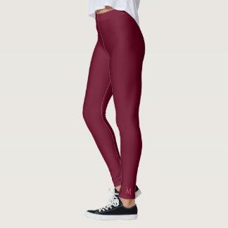 Pantalon rose chic simple solide de yoga de leggings