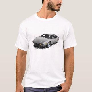Pantera gris-clair sur le T-shirt blanc