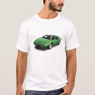 Pantera vert sur le T-shirt blanc