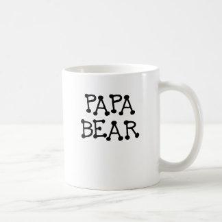 PAPA BEAR.png Mug Blanc