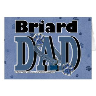 PAPA de Briard Carte