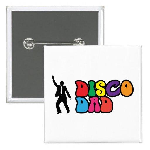 Papa de disco - un cadeau psychédélique pour le pa pin's