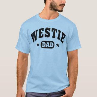 Papa de Westie T-shirt