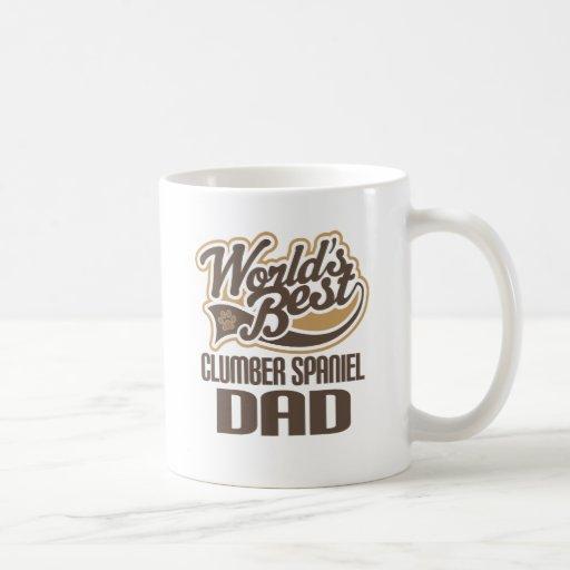 Papa d'épagneul de Clumber (mondes meilleurs) Tasses À Café