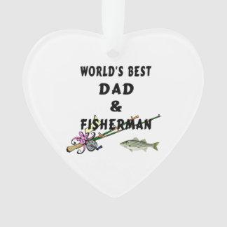 Papa et pêche