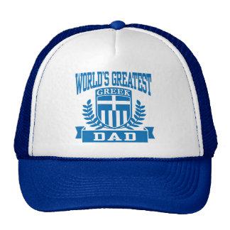 Papa grec casquettes