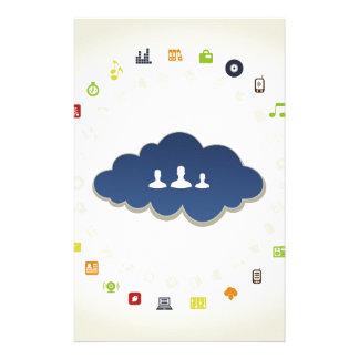 Papeterie Affaires un nuage
