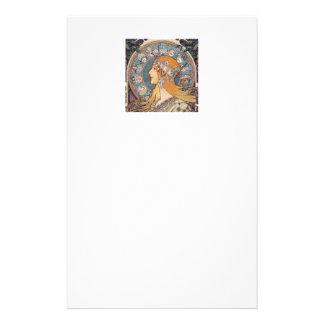 "Papeterie Alphonse Mucha , ""Zodiac"""