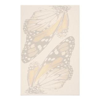 Papeterie Animal de faune de fleur de papillon de monarque