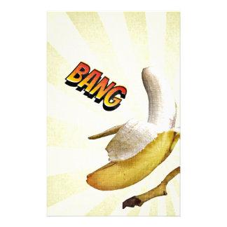 Papeterie Art de bruit comique de COUP de banane
