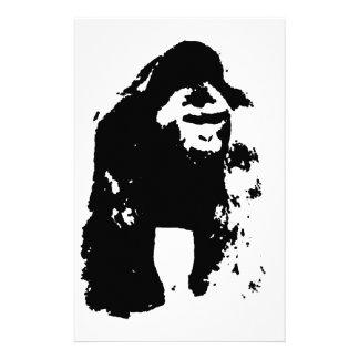 Papeterie Art de bruit de gorille