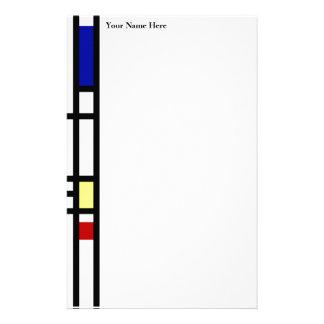 Papeterie Art moderne de Mondrian