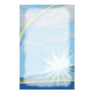 Papeterie Aube d'une nouvelle promesse, arc-en-ciel