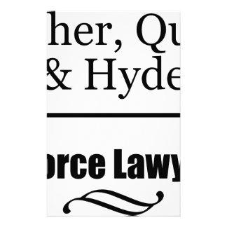 Papeterie Avocats spécialisés en divorce