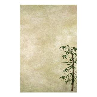Papeterie Bambou oriental vintage 1