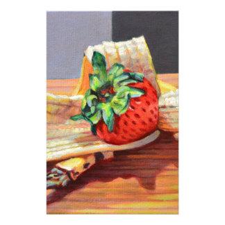 Papeterie Banana split de fraise