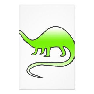 Papeterie beau dinosaure
