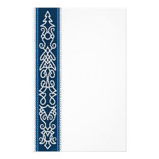 Papeterie Bleu de motif de Viking