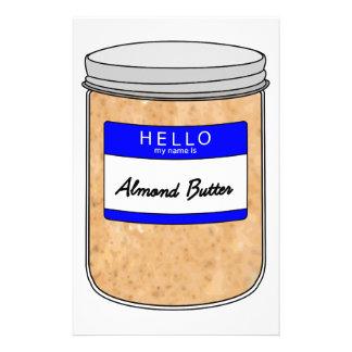 Papeterie Bonjour mon nom est beurre d'amande