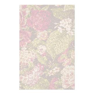 Papeterie Brocard floral d'effet d'étincelle