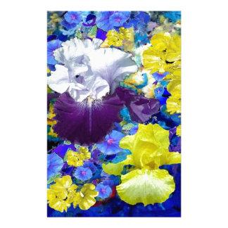 Papeterie Cadeaux de jaune de jardin d'iris par sharles.