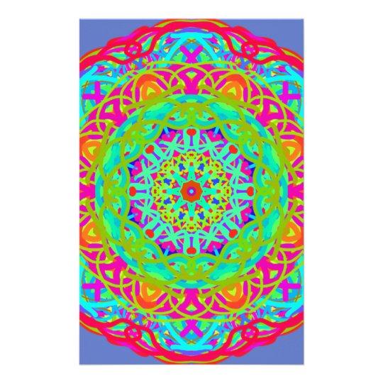 Papeterie Célébrons le mandala coloré