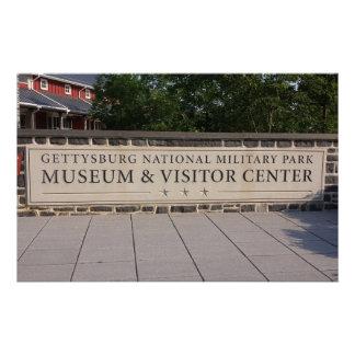 Papeterie Centre de visiteurs de Gettysburg stationnaire