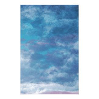 Papeterie Cieux bleus et nuages
