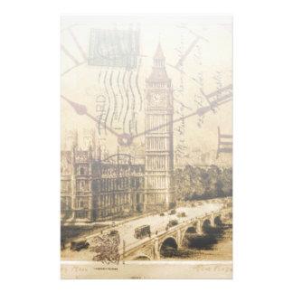 Papeterie Clocktower grand Ben de pont de tour de Londres
