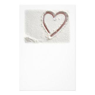 Papeterie Coeur de sable de plage