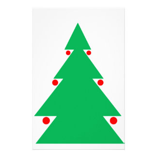 Papeterie Conception 8,5 d'arbre de Noël par 8,5 le 21