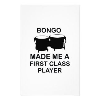Papeterie conception de bongo