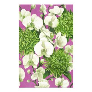 Papeterie Conception de fleur de dahlia