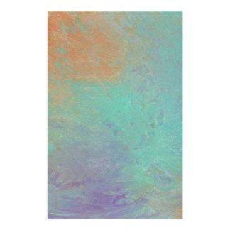 Papeterie Conception de la peinture originale