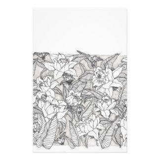 Papeterie conception florale