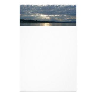 Papeterie Coucher du soleil dans le paysage marin de