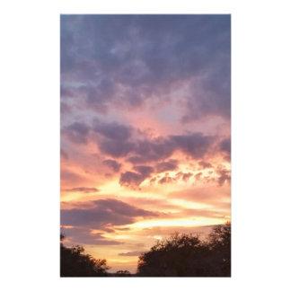 Papeterie Coucher du soleil du Texas
