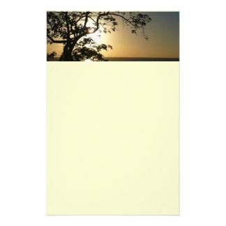 Papeterie Coucher du soleil par la photographie tropicale