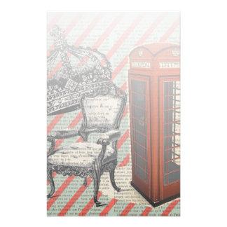 Papeterie Couronne de jubilé de victorian de cabine