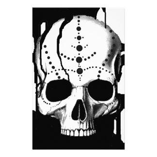 Papeterie Crâne noir