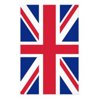 Papeterie cric britannique des syndicats de drapeau de mode