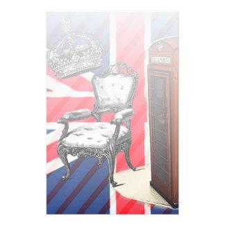 Papeterie Cric des syndicats de couronne de victorian de