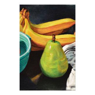Papeterie De banane d'Apple de poire toujours la vie