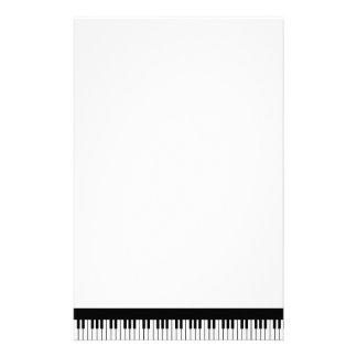Papeterie de clavier de piano