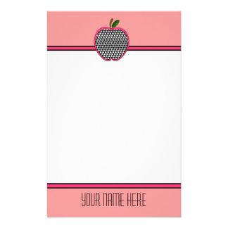 Papeterie de professeur - pied-de-poule Apple