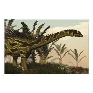 Papeterie Dinosaure d'Agustinia - 3D rendent
