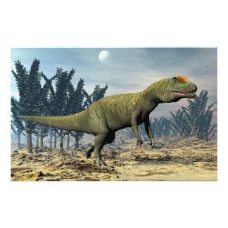 Papeterie Dinosaure d'Allosaurus - 3D rendent