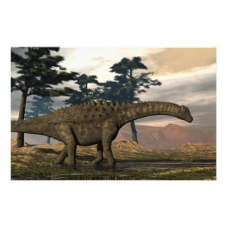 Papeterie Dinosaure d'Ampelosaurus