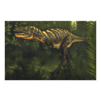 Papeterie Dinosaure d'Aucasaurus - 3D rendent