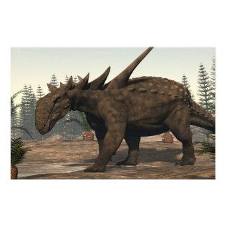 Papeterie Dinosaure de Sauropelta - 3D rendent